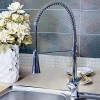 Wovier W-8503-C Pull Out Kitchen Sink Faucet, Chrome Tall Body