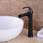 Wovier W-8307-ORB Waterfall Bathroom Sink Faucet,  Oil Rubber Bronze Tall Body